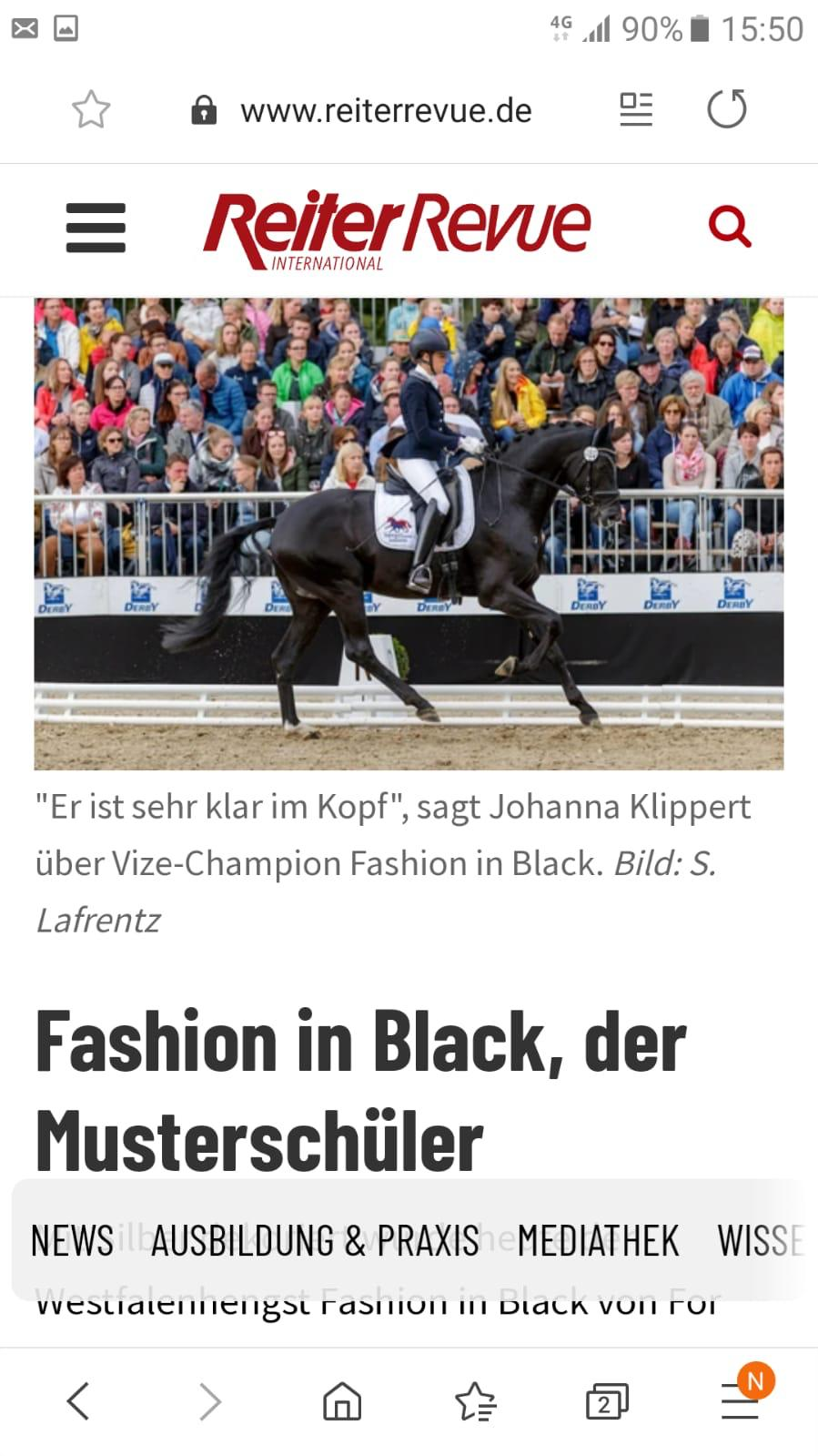 BuCha 2019 - Fashion in Black - Johanna Klippert_ReiterRevue